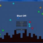 Blast Off! Title Screen